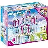 PLAYMOBIL Magic 9469 Funkelnder Kristallpalast mit Leuchtkristall, Inkl. Farbwechsel-Kleidung, Ab 4 Jahren