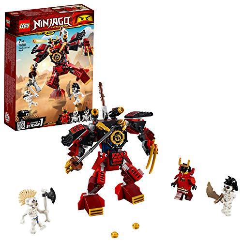 LEGO 70665 NINJAGO Samurai-Roboter Actionfiguren,...
