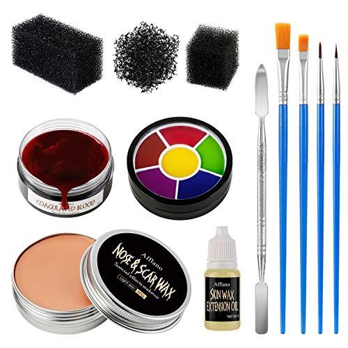 Halloween Makeup Spezialeffekt Haut Wachs, Afflano...