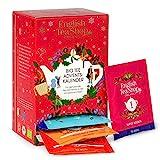 English Tea Shop - Tee Adventskalender rot, 24 verschiedene Premium BIO Tees - beliebte Klassiker und Trendtees