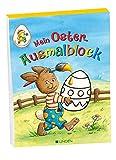 Mein Oster-Ausmalblock: Mein bunter Ostergarten