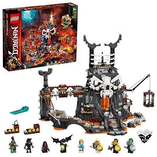 LEGO 71722 NINJAGO Verlies des Totenkopfmagiers,...