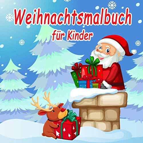 Weihnachtsmalbuch für Kinder: Winter und...