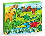 Laffity Adventskalender Dinosaurier 2020, 24 Stücke Verschiedene Überraschungen Dinosaurier Spielzeug für Kinder, Kinder Jungen Mädchen Weihnachtskalender Geschenk