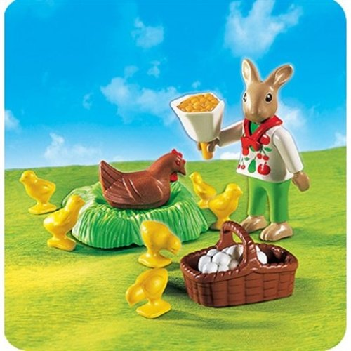 PLAYMOBIL® 4452 - Osterhäschen mit Huhn und...
