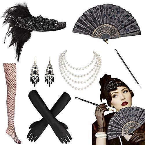 Yansion 20er Jahre Kostüm Accessoires, 1920s...