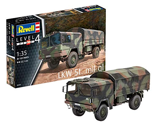 Revell 03257 - Modellbausatz Panzer 1:35 - LKW 5T....