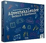 FRANZIS Adventskalender Technik & Elektronik 2020 | 24 spannende Versuche zum Experimentieren & Entdecken | Auch ohne Vorkenntnisse | Ab 8 Jahren