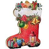 Adventskalender Pralinés-Kalender in Stiefelform 275 g Pralinen Weihnachten