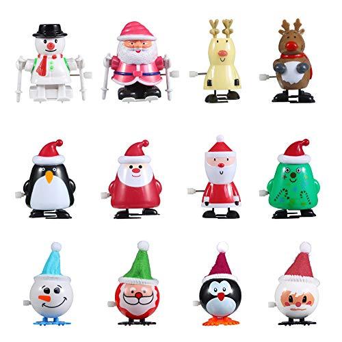 FunsLane Christmas Wind-up Spielzeug, 12 Stück...