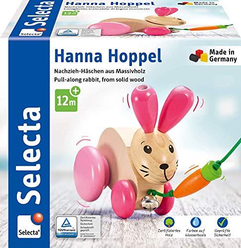 Selecta 62023 Hanna Hoppel, Nachzieh Hase,...