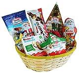 Geschenk Korb Nikolausgeschenk mit Ferrero Kinder Schokolade (6-teilig)