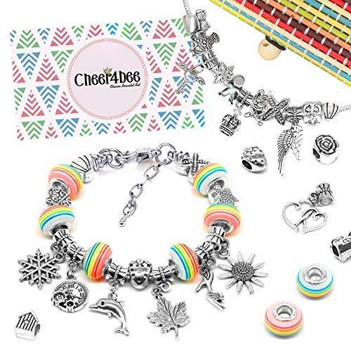 Cheer4bee Charm Armband Kit DIY - Geschenk für...