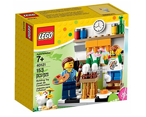 LEGO Painting easter eggs 40121