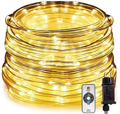 HAUSPROFI 15M 200 LEDS Lichterschlauch mit...
