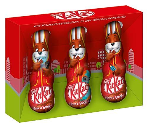 Nestlé KitKat Osterhase, 1er Pack (à 3 x 20g)