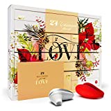 Amorana Erotischer Adventskalender für Paare – Erotik Kalender mit 28 sinnlichen Überraschungen, Geschenkset für Anfänger und Fortgeschrittene, Premium