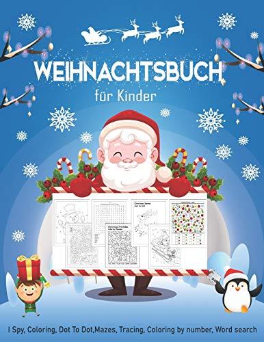 Weihnachtsbuch für Kinder: Ein lustiges...