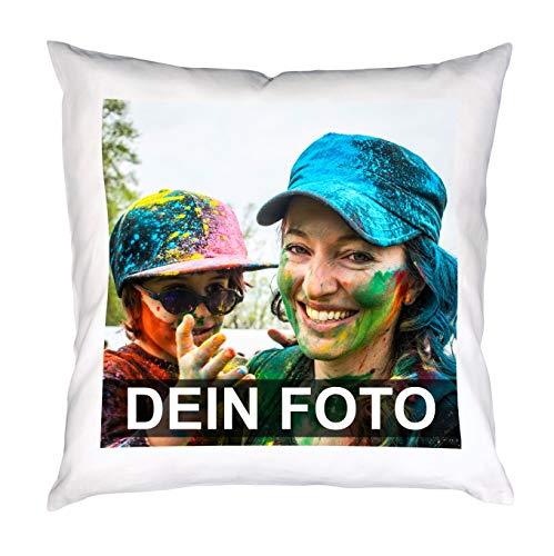 Kissen mit Foto selbst gestalten, 40 x 40 cm,...