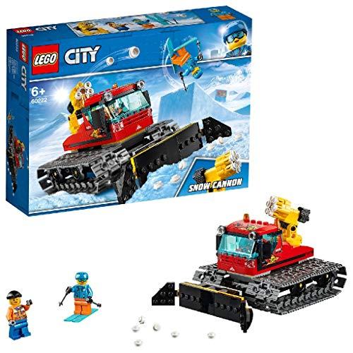 LEGO 60222 City Pistenraupe, Bauspielzeug mit 2...