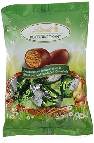 Lindt & Sprüngli Blätterkrokant-Ei,Beutel, 3er...