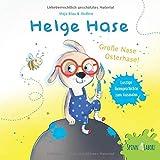 𝐇𝐞𝐥𝐠𝐞 𝐇𝐚𝐬𝐞: Große Nase Osterhase! Ein lustiges Reimbilderbuch mit Ausmalelementen für Kinder ab 2 Jahren (für Mädchen und Jungen), tolles Ostergeschenk