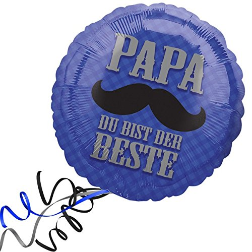 Heliumballon Ballon Folienballon - Papa du bist...