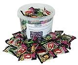 CAPTAIN PLAY   Halloween Candy   Trolli Dracula Gebisse Zähne aus Fruchtgummi in Einzelverpackung   67 Stück