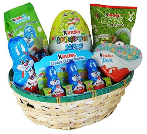 Geschenk Set Osternest mit Ferrero Kinder...
