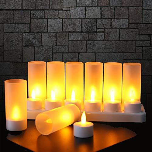EXTSUD 12er LED Flammenlose...