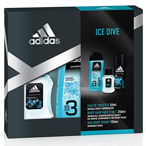 adidas Duftset Ice Dive Eau de Toilette 50 ml +...