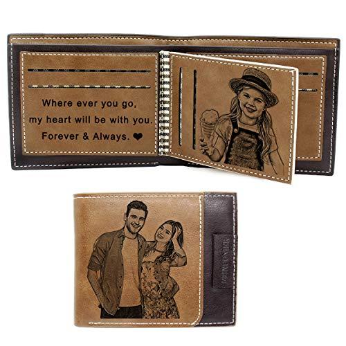 Personalisiert Foto Geschenk, Foto Geldbörse mit...