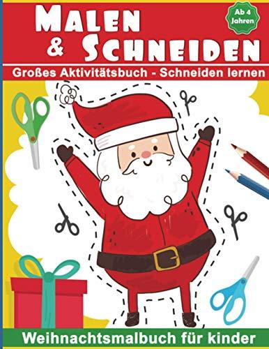Malen & Schneiden: Großes Aktivitätsbuch -...