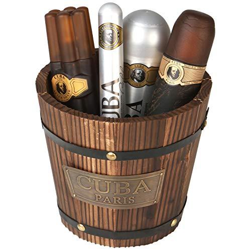 Cuba Geschenk-Set 5-teilig, 100 ml | Set | Eau de...