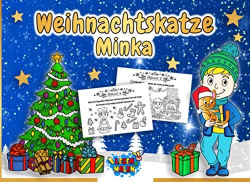 Weihnachtskatze Minka: Das kleine Adventsbuch für...