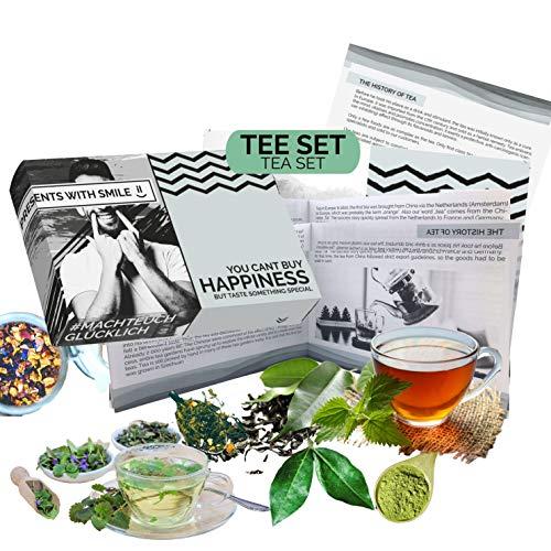 Tee Probierset Tees aus aller Welt Geschenkbox |...