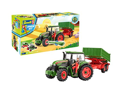 Revell Revell_00817 817 Junior Kit-Traktor mit...