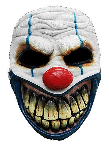 Clown Maske des Grauens aus Latex - Erwachsenen...