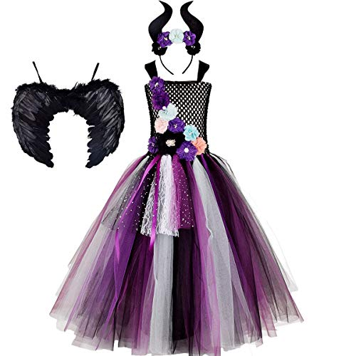 IBTOM CASTLE Maleficent Baby Kinder Mädchen...