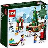 LEGO Exc 40263 Platz in Einer Stadt mit Weihnachtsmotiv