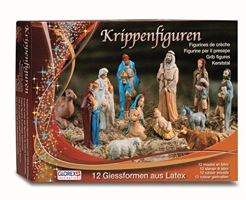 Glorex Latex Krippenfiguren Set, Andere,...