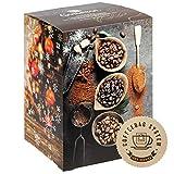 Corasol Flavoured Coffee Kaffee-Adventskalender 2020 XL, 24 aromatisierte Kaffee-Kreationen im Coffeebag für Genießer (240 g)