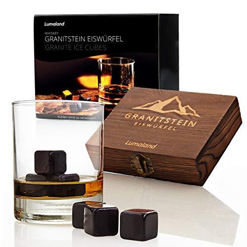 Lumaland 9 Whiskysteine aus Granit im Geschenkset...