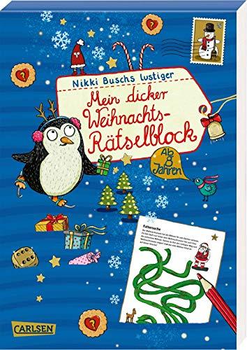 Mein dicker Weihnachts-Rätselblock: Band 5:...
