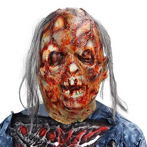 molezu Halloween Scary Latex Kostüm Party Maske...