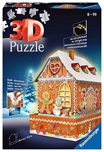 Ravensburger 3D Puzzle 11237 - Lebkuchenhaus bei...