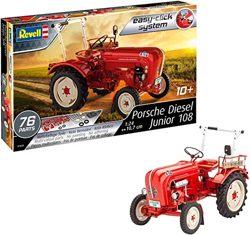 Revell Revell_07820, Traktor-Bausatz 1:24, 10,7 cm...