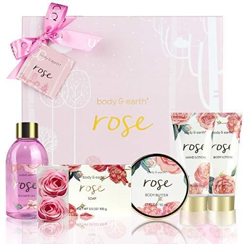 Geschenkbox für Frauen,Body&Earth Rose 6pcs...