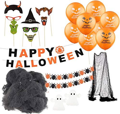 Halloween Deko Dekoration Grusel Set mit über 30...