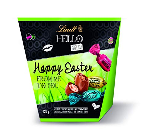 Lindt HELLO, Easter Gift mit Eier Mischung zum...